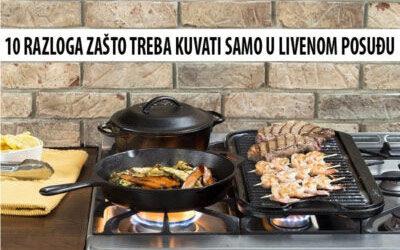 Zasto treba kuvati u livenom posudju